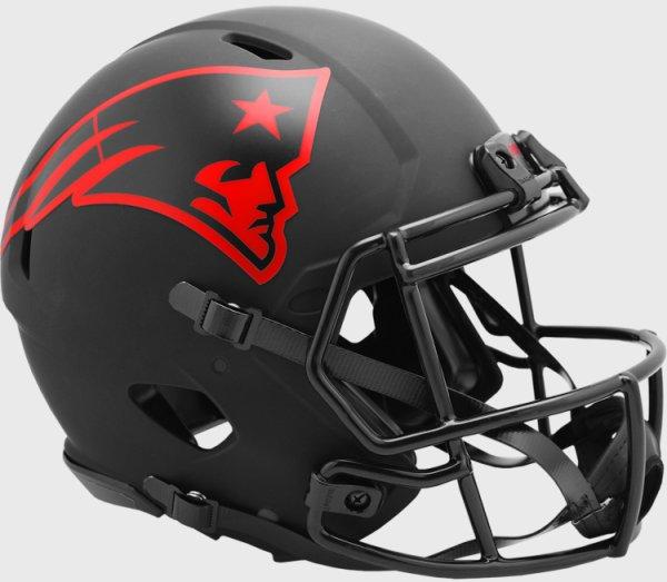 New England Patriots Speed Football Helmet ECLIPSE