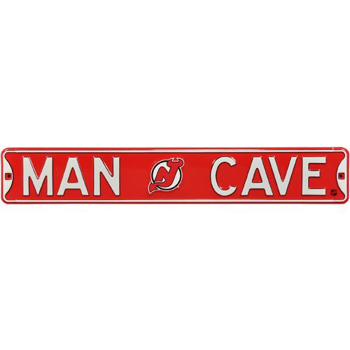 New Jersey Devils MAN CAVE Authentic Street Sign