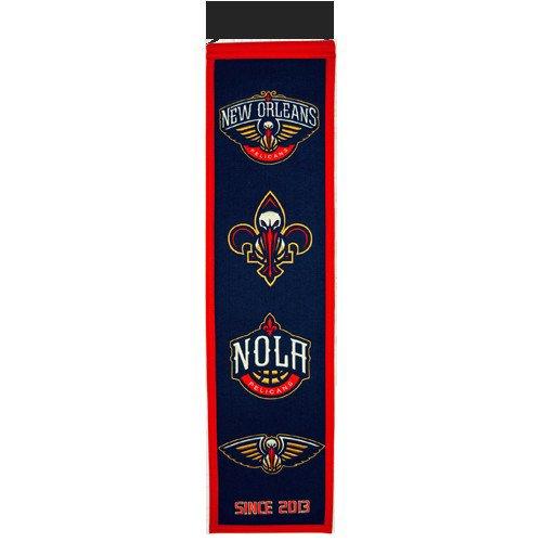 New Orleans Pelicans Logo Evolution Heritage Banner