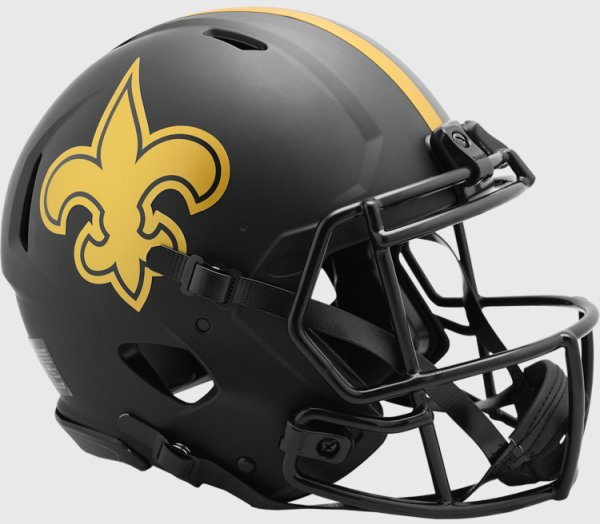 New Orleans Saints Speed Football Helmet ECLIPSE