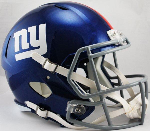 New York Giants Speed Replica Football Helmet