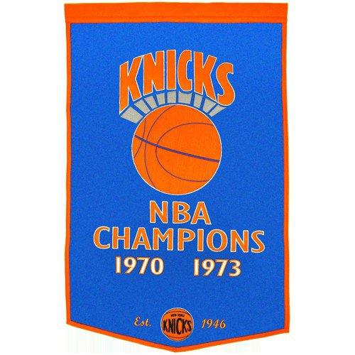 New York Knicks Dynasty NBA Finals Championship Dynasty Banner - with hanging rod