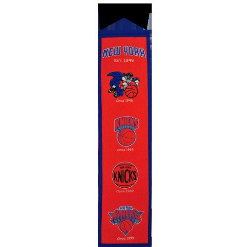 New York Knicks Logo Evolution Heritage Banner