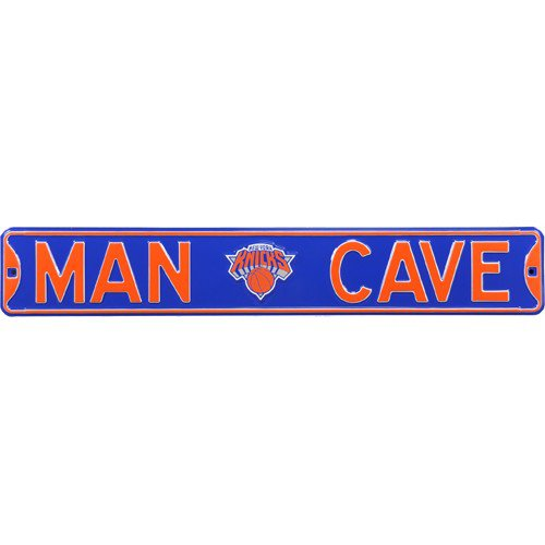 New York Knicks MAN CAVE Authentic Street Sign