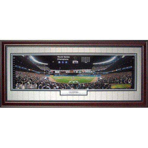 New York Yankees (2000 World Series Champions) Deluxe Framed Panoramic Photo