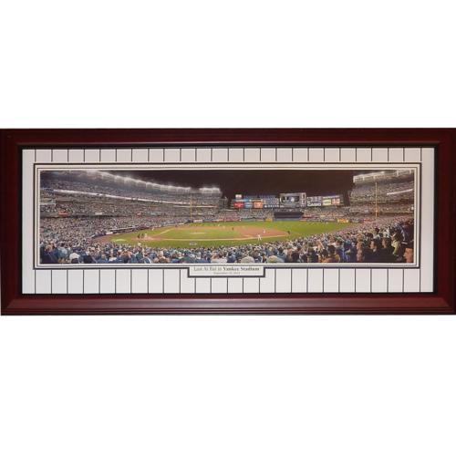 New York Yankees (Derek Jeter Last At Bat at Yankee Stadium) Deluxe Framed Panoramic Photo