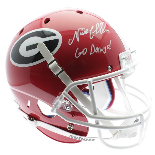 099568845 Nick Chubb Autographed Signed Georgia Bulldogs Schutt Replica Full size  Helmet W  Go Dawgs -