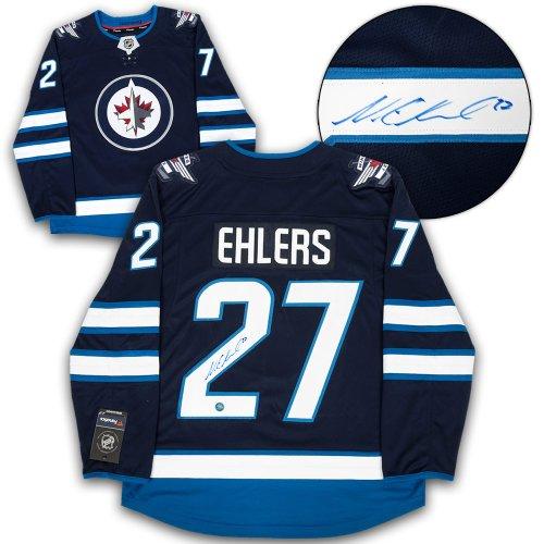 buy popular d1062 644e2 Nikolaj Ehlers Winnipeg Jets Autographed Signed Fanatics ...