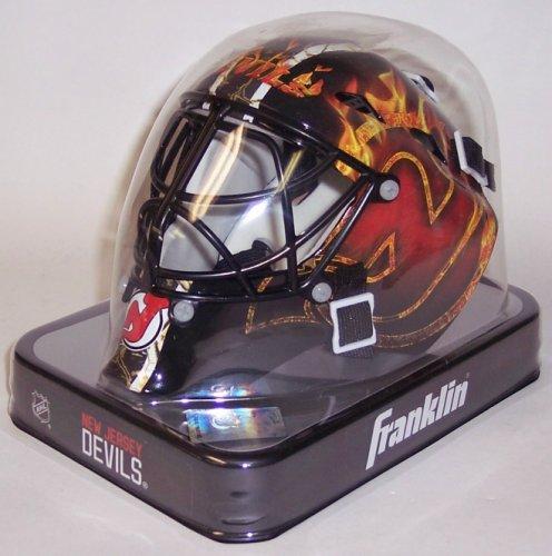 NJ New Jersey Devils Franklin Sports NHL Mini Goalie Mask