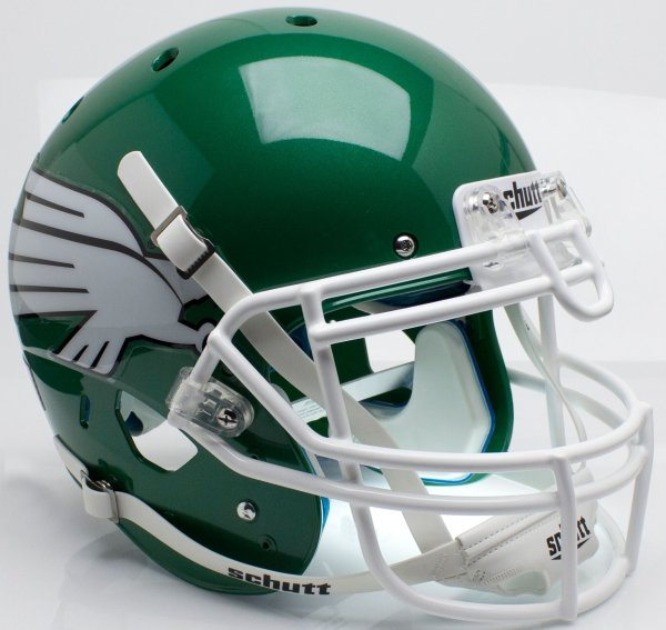Schutt NCAA North Texas Mean Green Mini Authentic XP Football Helmet