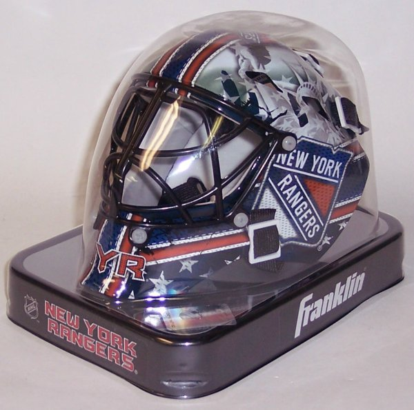 NY New York Rangers Franklin Sports NHL Mini Goalie Mask