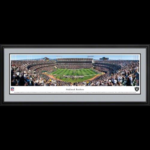 Oakland Raiders Deluxe Framed Stadium Panoramic