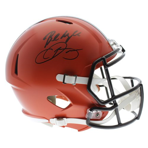 b4faba98 Cleveland Browns Autographed Full Size Helmets | Signed Helmets