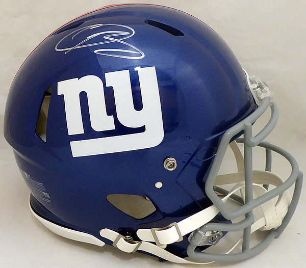 62ba62dc8b7 Odell Beckham Jr. Autographed Signed New York Giants Full Size Authentic  Speed Helmet - Beckett