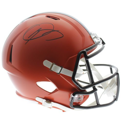 Odell Beckham Jr. Cleveland Browns Autographed Signed Riddell Full Size Speed Replica Helmet - JSA Authentic
