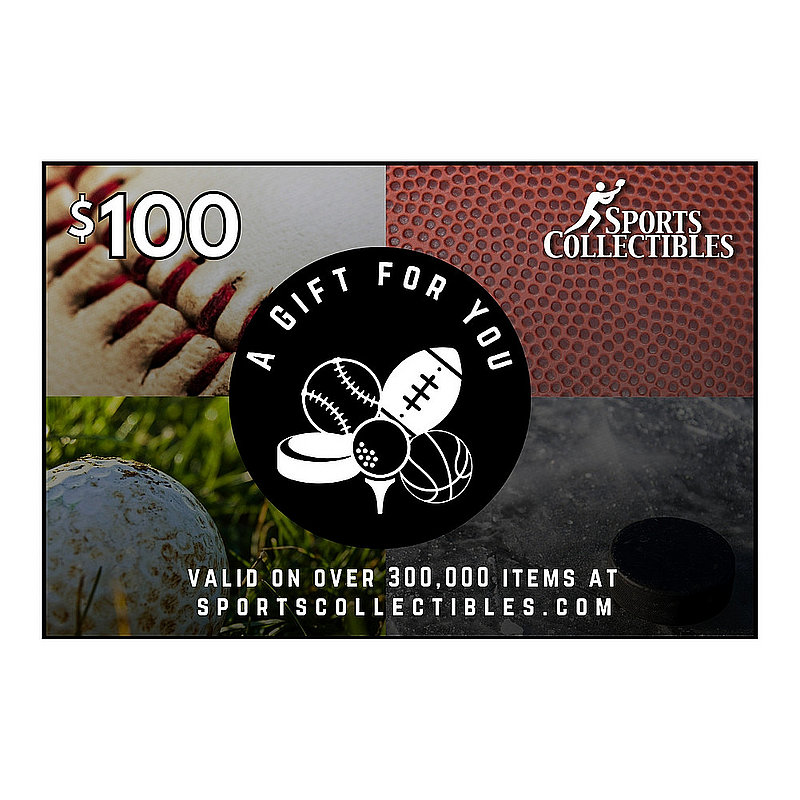 Official Sports Collectibles $100 eGift Card