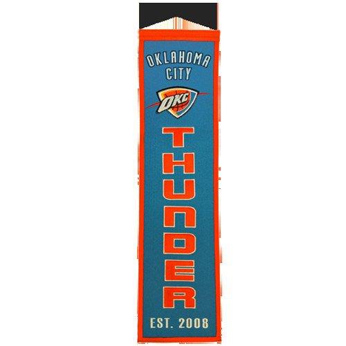 Oklahoma City Thunder Vertical Banner