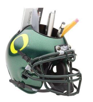 Oregon Ducks NCAA Football Schutt Mini Helmet Desk Caddy