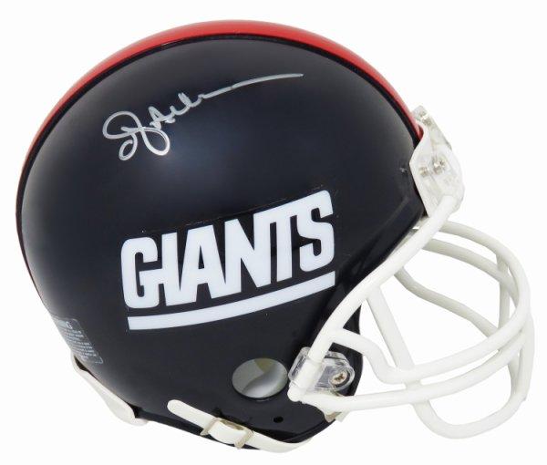 Ottis Anderson Autographed Signed New York Giants Throwback Riddell Mini Helmet