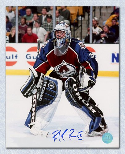 cheap for discount 3b400 c1619 Patrick Roy Colorado Avalanche Autographed Signed Game ...