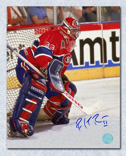 the best attitude 60ad3 dad37 Patrick Roy Montreal Canadiens Autographed Signed Stanley ...