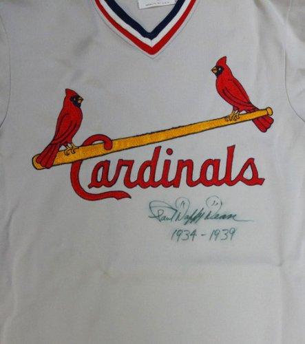 Paul Daffy Dean Autographed Signed St. Louis Cardinals Jersey 1934-1939 - PSA/DNA Certified