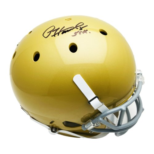 Paul Hornung Autographed Signed Notre Dame Full Size Replica Helmet HT 56 Inscription - PSA/DNA Authentic