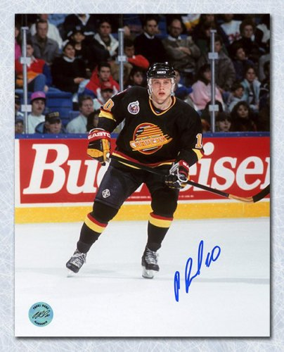5cc0effb8 Pavel Bure Vancouver Canucks Autographed Signed Game Action 8x10 Photo -  Certified Authentic