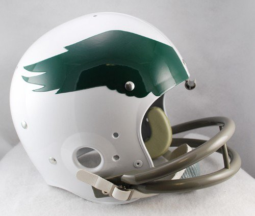 Philadelphia Eagles 1969 to 1973 TK Throwback Football Helmet