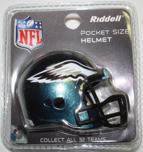 Philadelphia Eagles Riddell Pocket Pro Football Helmet