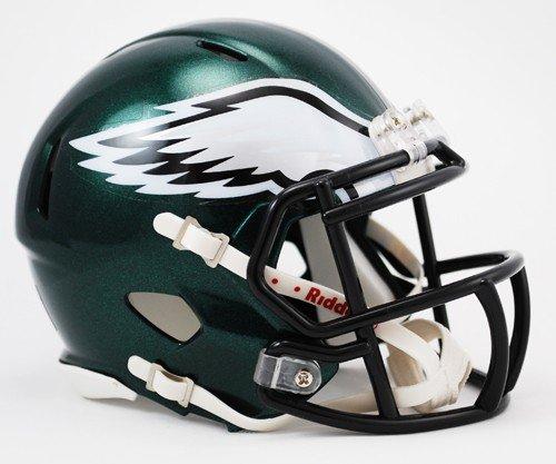 Philadelphia Eagles Riddell Speed Mini Football Helmet