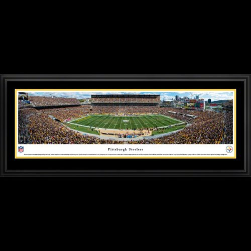 Pittsburgh Steelers (Day Game) Deluxe Framed Stadium Panoramic