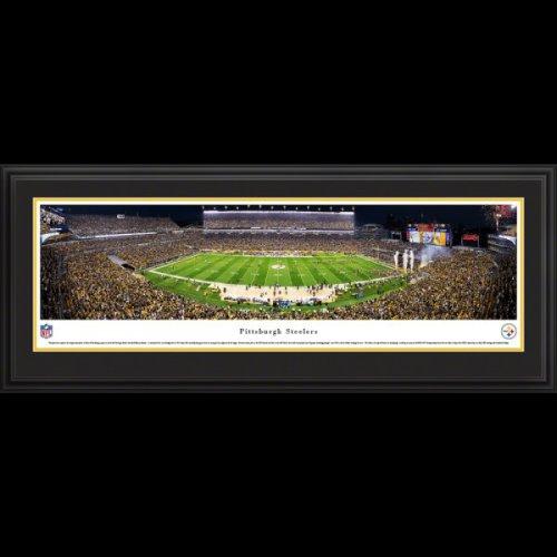 Pittsburgh Steelers (Night Game) Deluxe Framed Stadium Panoramic