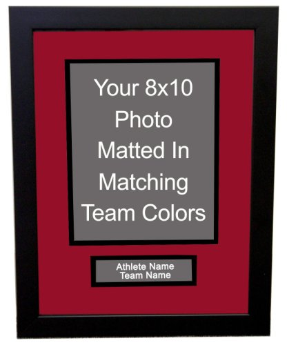 Professional 8x10 Photo Framing with Nameplate