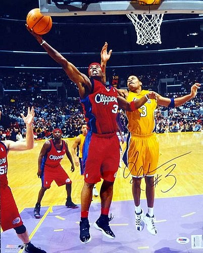Quentin Richardson Autographed Signed 16x20 Photo Los Angeles Clippers - PSA/DNA Certified