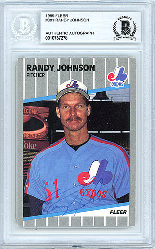 Randy Johnson Autographed Memorabilia Signed Photo Jersey
