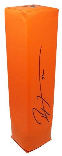 Ray Lewis Autographed Signed Orange Endzone Football Pylon