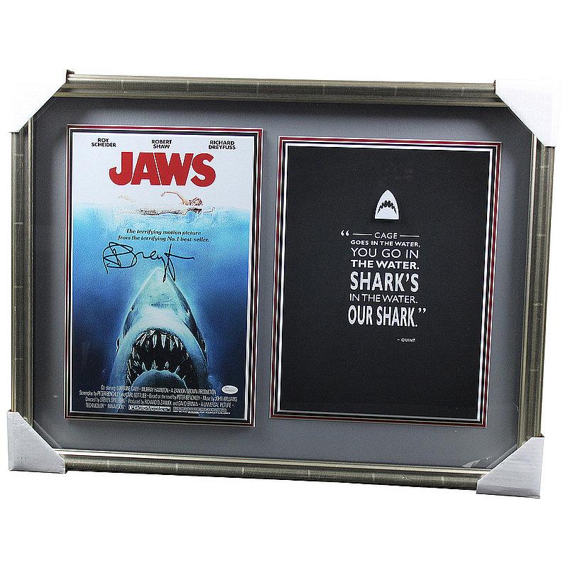 Richard Dreyfuss Autographed Signed Jaws Shadowbox - JSA Authentic