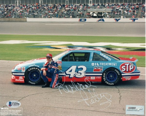 Richard Petty Autographed Signed Nascar 8x10 Photo Beckett Authenticated