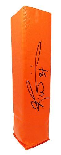Ricky Williams Autographed Signed Orange Endzone Pylon