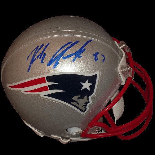 new style c0a4b 2e933 Rob Gronkowski Autographed Signed Auto New England Patriots ...