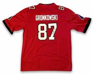 Rob Gronkowski Autographed Memorabilia | Signed Photo, Jersey ...