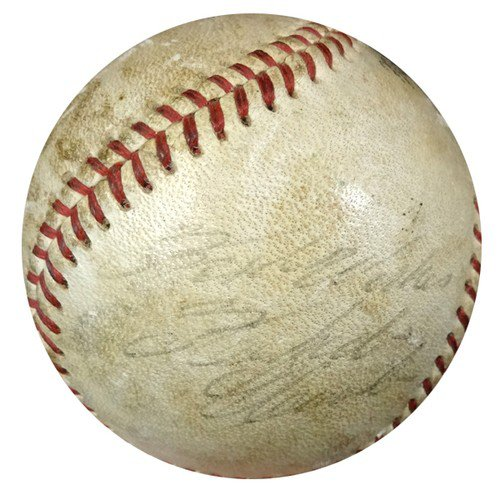 Roberto Clemente Autographed Signed Game Used NL Baseball Pittsburgh Pirates - PSA/DNA Certified