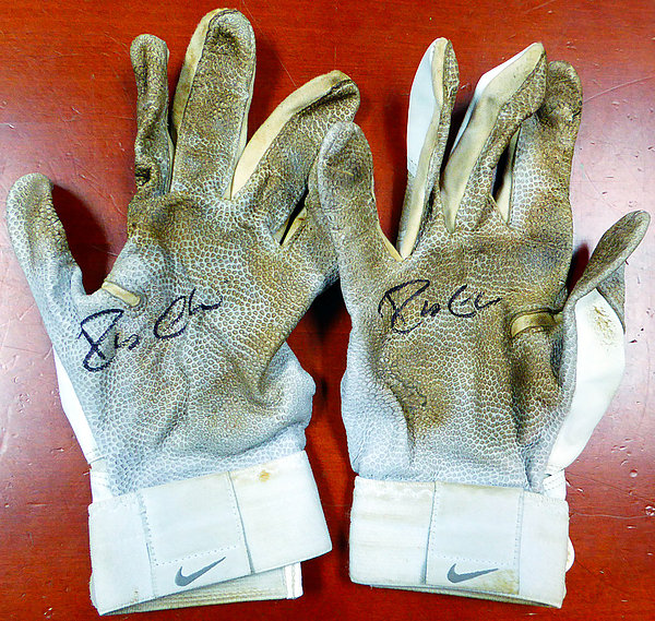 Robinson Cano Autographed New York Yankees Pair of Game Used Nike Batting Gloves with Signed Certificate and - PSA/DNA Certified