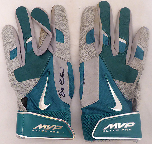 Robinson Cano Autographed Signed Seattle Mariners Game Used Nike Batting Gloves With Signed Certificate - Certified Authentic