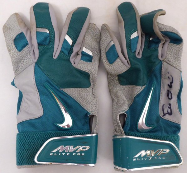 Robinson Cano Signed Seattle Mariners Game Used Nike Batting Gloves With Signed Certificate - Certified Authentic