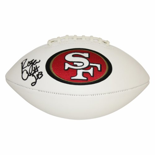 0a060b25c Roger Craig Autographed Signed San Francisco 49ers White Panel Football -  JSA Authentic