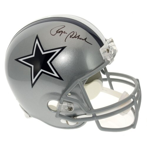 f23c635d760 Roger Staubach Autographed Signed Dallas Cowboys Full Size Replica Helmet -  JSA Certified Authentic