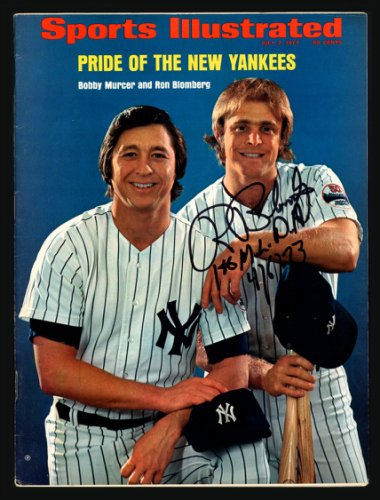 Ron Blomberg Autographed Signed Sports Illustrated Magazine New York Yankees 1st MLB DH No Label Beckett BAS #S76200
