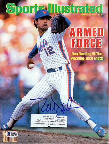Ron Darling Autographed Signed Sports Illustrated Magazine